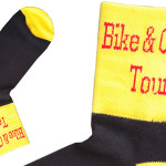 Personalized bike socks