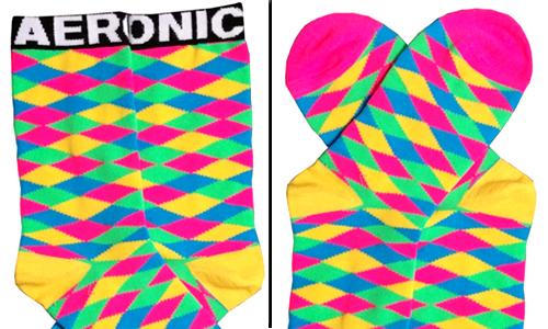 custom made argyle crew sock
