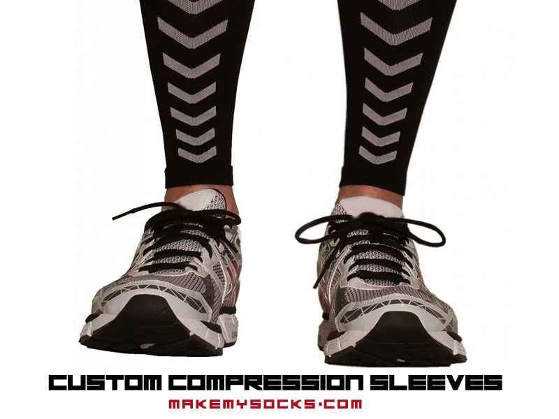 personalized custom compression sleeves