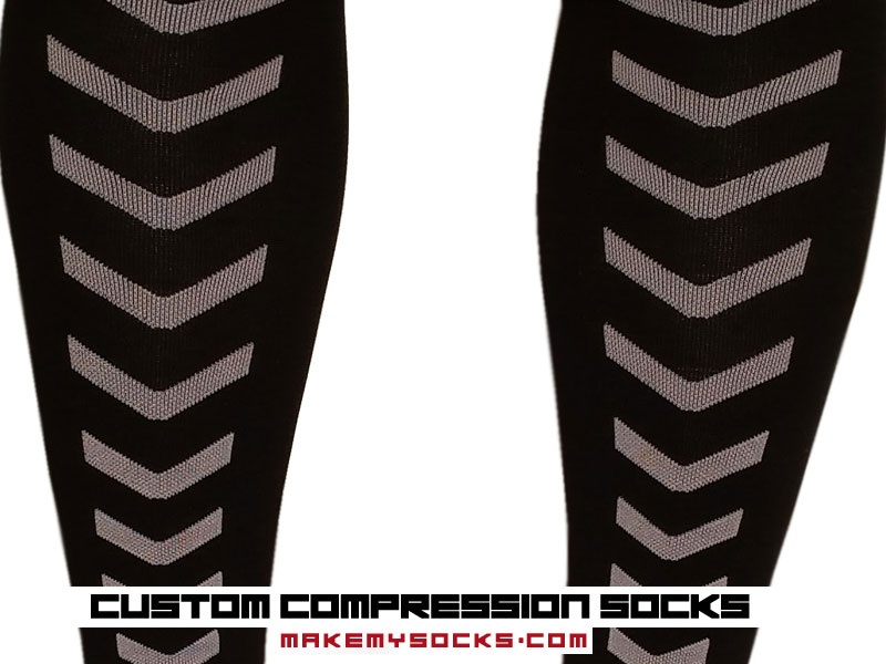 personalized custom compression socks